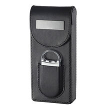 Caldwell Black Leather with Cutter, , seriouscigars