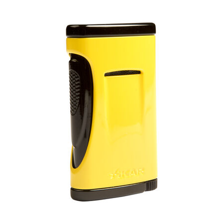 Xikar Xidris Yellow Single Torch Lighter, , seriouscigars