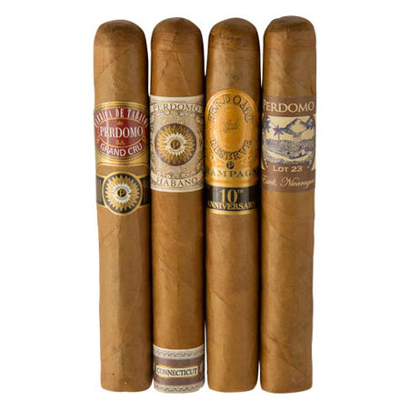 Perdomo 4-Pack Humidified Connecticut Sampler, , seriouscigars