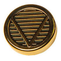Round Gold-Tone (Small), , seriouscigars