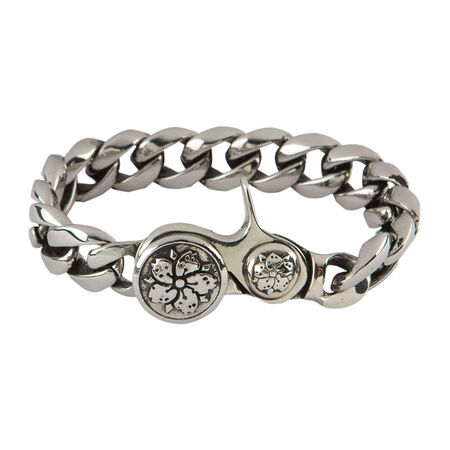 Stainless Coaster Bracelet 8.5 In., , seriouscigars