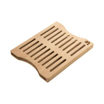 Double Packet Wood Side-by-Side Holder, , large