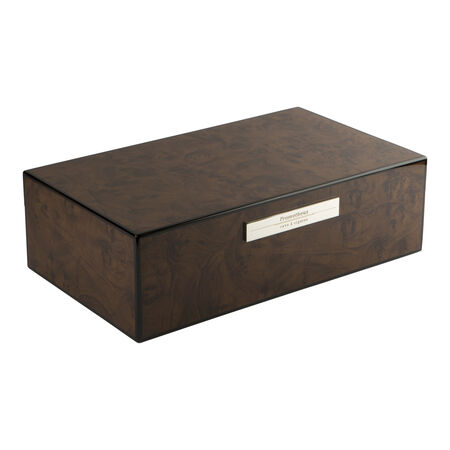 Prometheus Milano Series Walnut 100-Cigar Humidor, , seriouscigars