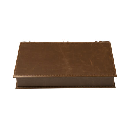 Novelist Book Style Brown Leather, , seriouscigars