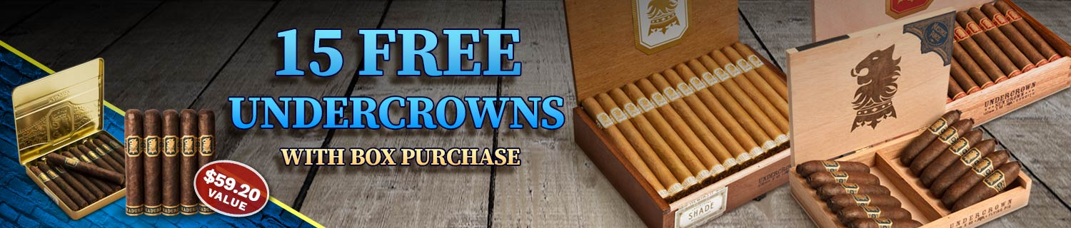 15 Undercrown Cigars Free!