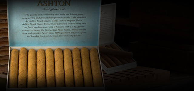 Ashton Small Cigars & Cigarillos
