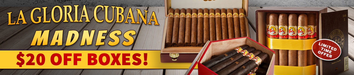 $20 Off La Gloria Cubana!